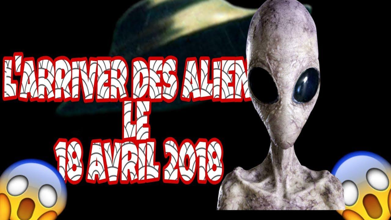 extraterrestre avril 2018