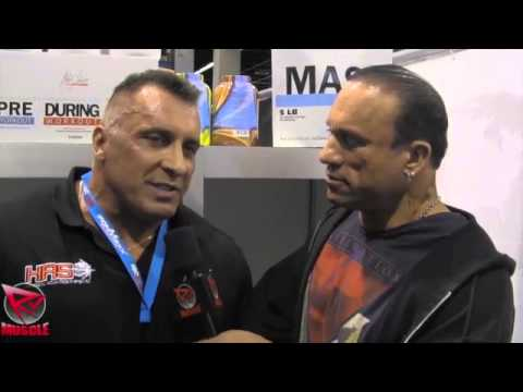 Milos Sarcev Talks To Dave In Germany At FIBO