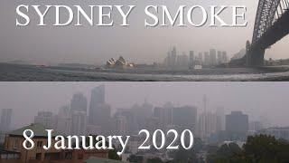 Sydney Smoke   The Smoke Haze Has Returned To Sydney 8 January 2020