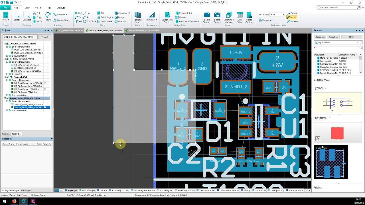 Altium Circuit Studio - Polygon priorities