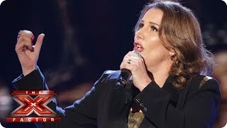 Sam Bailey sings New York New York by Frank Sinatra - Live Week 5 - The X Factor 2013