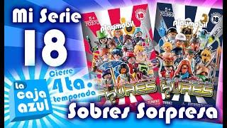 Mi Serie 18 - Sobres Sorpresa - Cierre 4ta. temporada