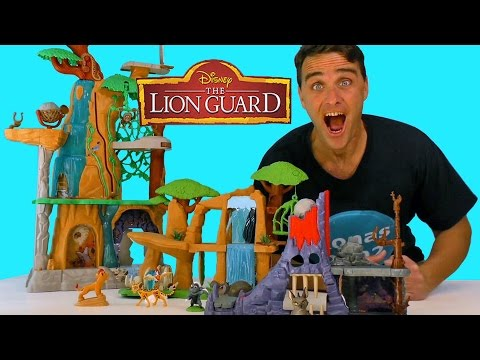 The Lion Guard Hyena's Hideout Playset ! || Toy Reviews || Konas2002