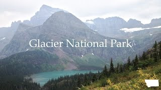 Hiking and Camping in Glacier National Park in Montana