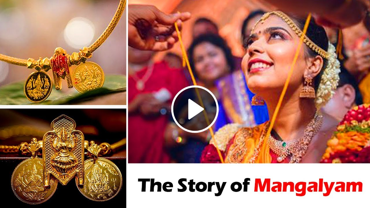 The Indian Women S Thali What Is It S Origin And Story Of Mangalyam Tbg Bridal Store Youtube