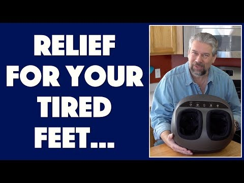 The Relaxing Renpho Foot Massager - Reviewed
