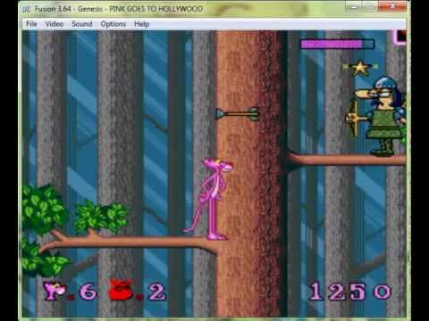 Pink Goes To Hollywood - Mega drive / Genesis Longplay
