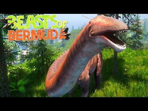 Beasts of Bermuda - Um Herbívoro Estressado, TORNADO Está Chegando! | Dinossauros (#5) (PT-BR)