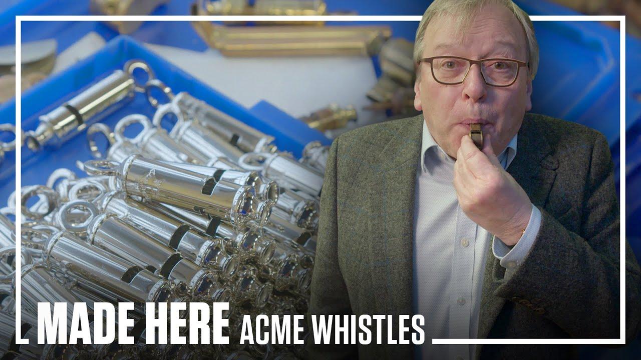 ACME Whistles | MADE HERE | Popular Mechanics