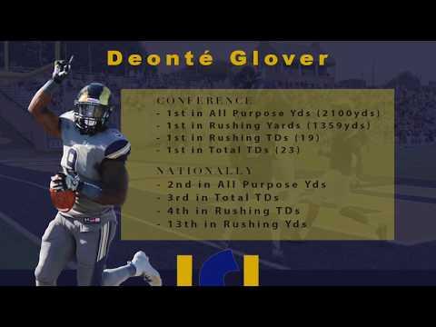 Deonté Glover - Shepherd University Football - Senior Highlights (2019)