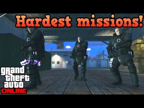 Hardest Missions In GTA Online!
