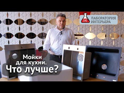 Кухонные мойки. Как выбрать мойку для кухни? Краш-тест в Лаборатории интерьера.