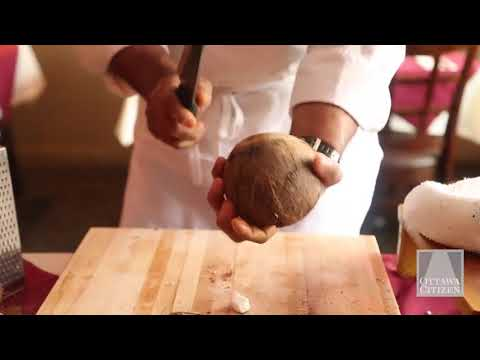 Ottawa chef Joe Thottungal: How to open a coconut