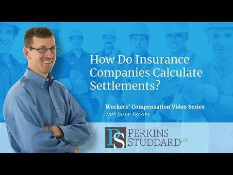 How Do Insurance Companies Calculate Settlements?