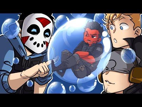 Rainbow Six: Siege | CALL ME BUBBLE BOY! (w/ H2O Delirious, Bryce, & Ohmwrecker) R6 Velvet Shell