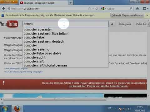 Kein Ruckeln mehr bei YouTube Videos (Firefox)