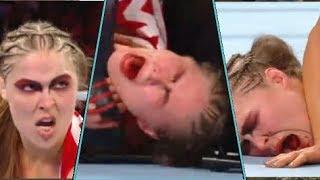 Ronda rousey vs Charlotte flair WWE Survivor Series (full match)