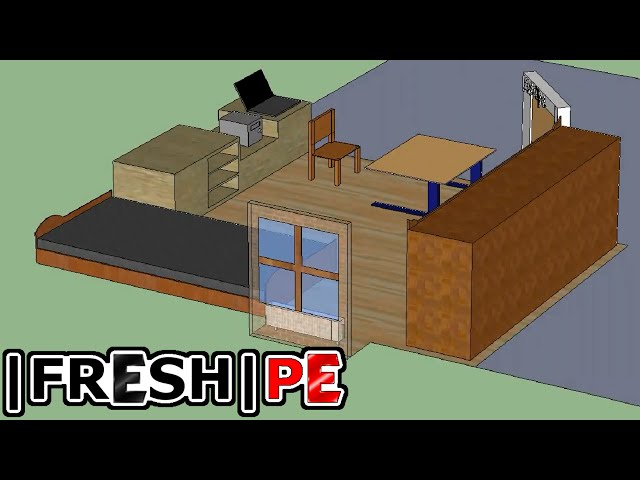 Mein Zimmer in 3D - Google SketchUp (HD) - YouTube