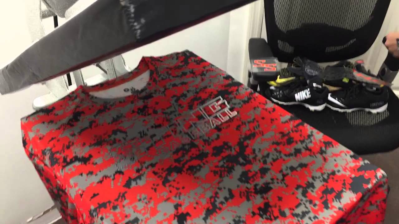 e8a40801af2e7 How to Heat Press a custom Badger Dri-fit Baseball shirt with Heat Transfer  Vinyl