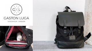 【GASTON LUGA】PC用パッド入りで安心!おしゃれなバックパック プローペル【レビュー】ガストンルーガ