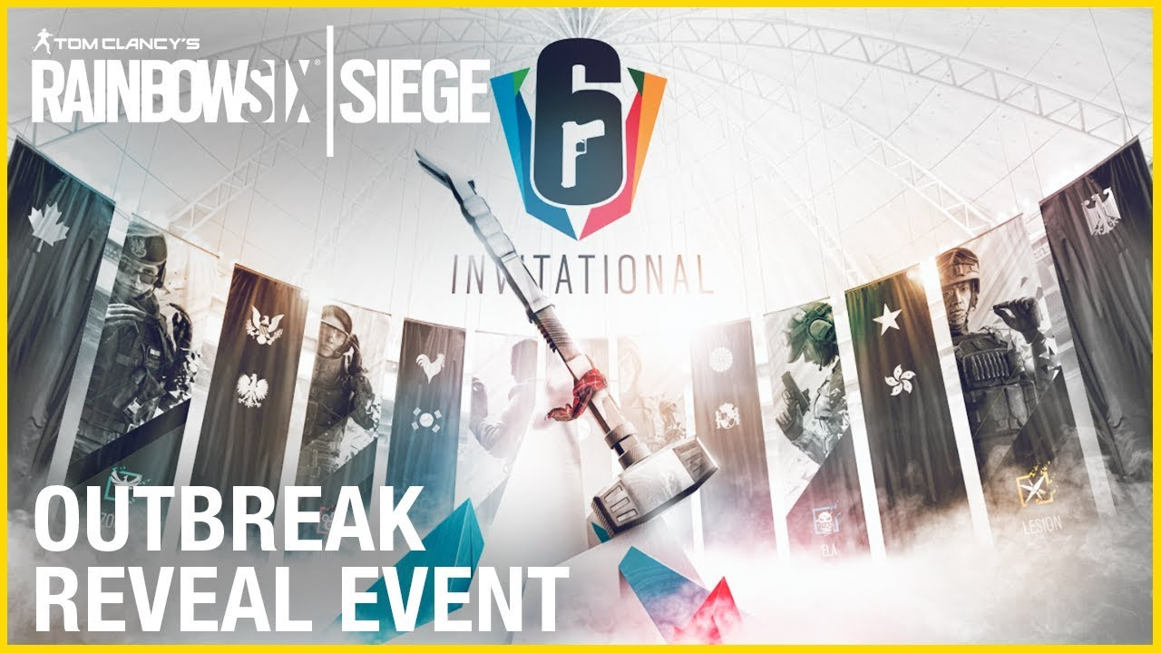 Rainbow Six Siege: LIVESTREAM Six Invitational 2018 - Outbreak Reveal | Ubisoft [NA]