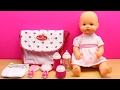 Bolso Cambiador o Pañalera para la muñeca bebé   La Bebé Nenuco hace popó en el pañal