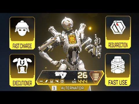 Using ALL GOLD ITEMS In SOLO In Apex Legends