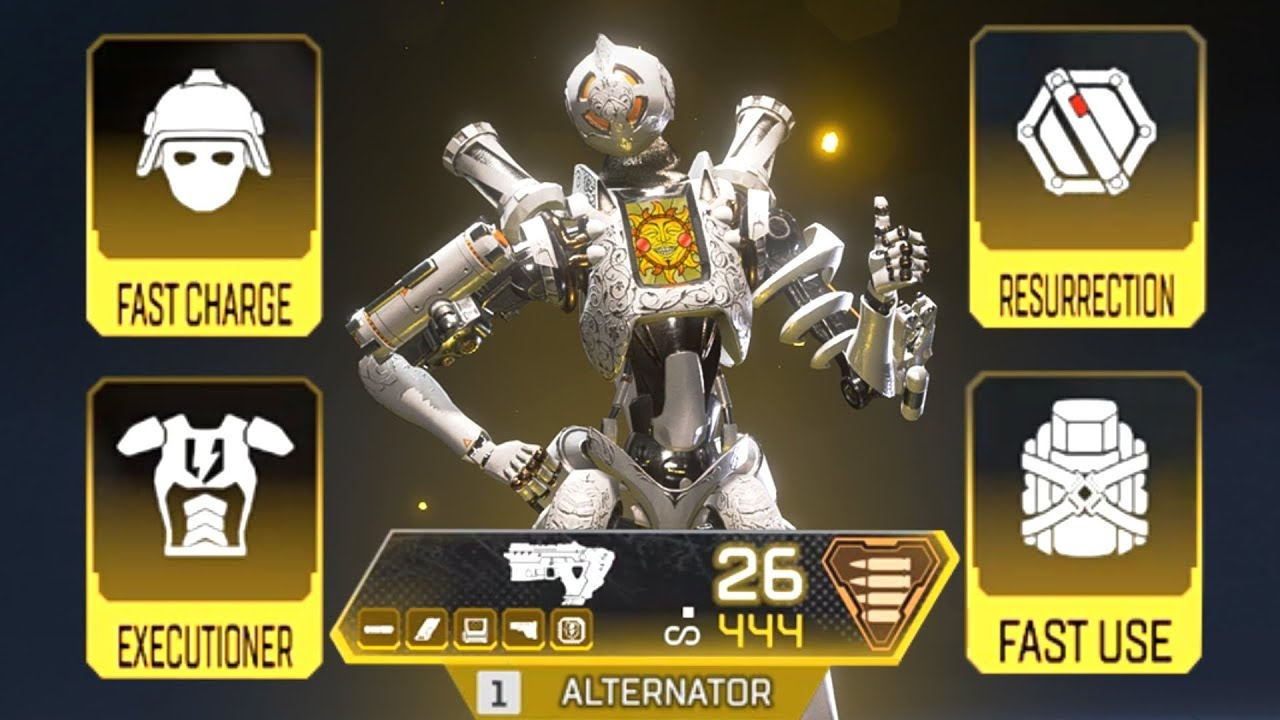Using ALL GOLD ITEMS in SOLO in Apex Legends thumbnail