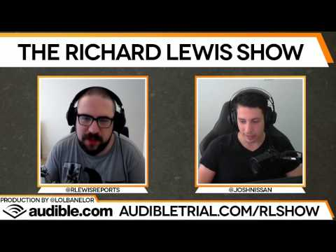 "The Richard Lewis Show #60: Joshua ""Steel"" Nissan"