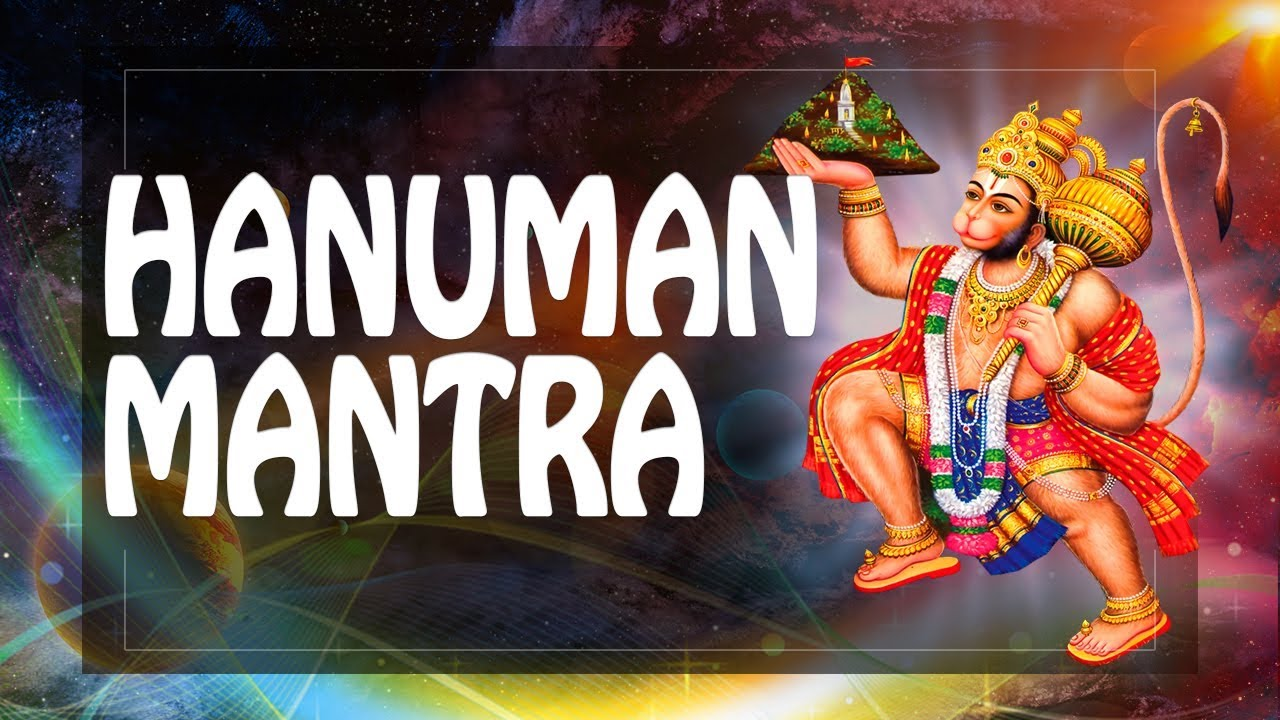 Hanuman Mantra Protect from Black Magic & Evil Forces + Male Power mantra ॐ pm 2019