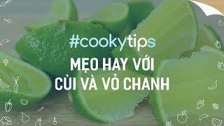#CookyVN - 6 MẸO HAY VỚI CÙI VÀ VỎ CHANH cho các bà nội trợ - Cooky TV