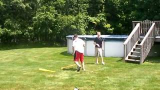 hit in face with wiffle ball bat