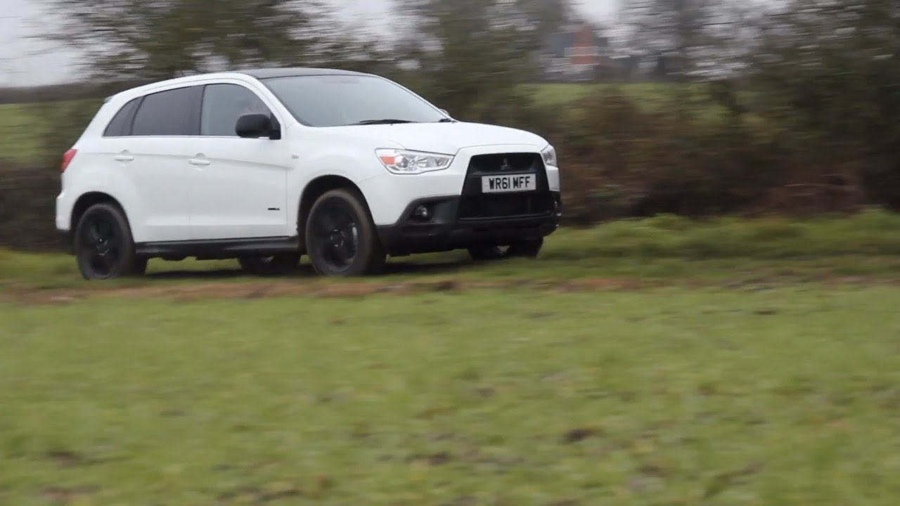 Car Throttle: Mitsubishi ASX Black Edition Review