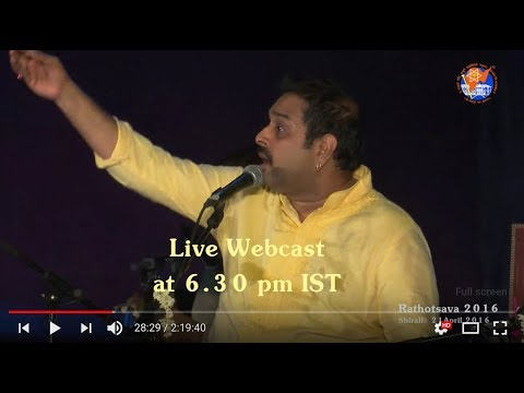 Live From Karla Math - Musical Programme by Shankar Mahadevan and Troupe