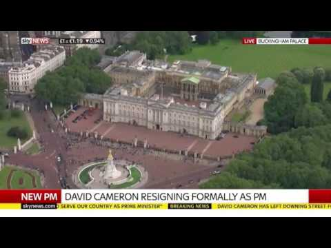 Prime Minister David Cameron leaves and Theresa May becomes new PM. Live as it happened 13 July 2016