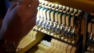Музыка: ремонт механики пианино (не играет клавиша)