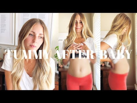 TUMMY AFTER BABY AND HOW I'M FEELING | 4 MONTHS POSTPARTUM