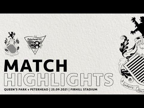 Queens Park Peterhead Goals And Highlights