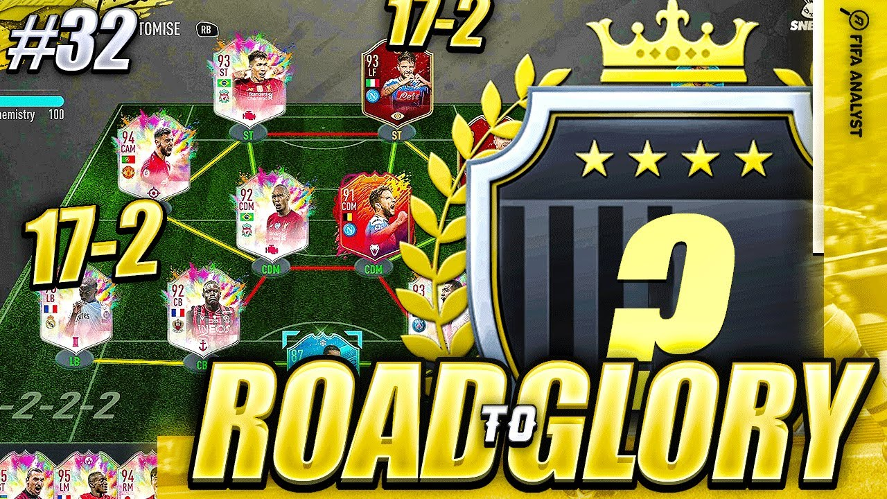 FIFA 20 17-2 FUT CHAMPS, ON FOR OUR BEST WEEKEND?! ROAD TO GLORY #32   FIFA 20 ULTIMATE TEAM