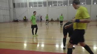 Старт Метеор 2 й тайм Чемпионат мини футбол 2020 12