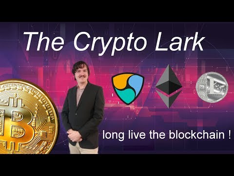 Bitcoin \u0026 Cryptocurrency Chats With The Crypto Lark