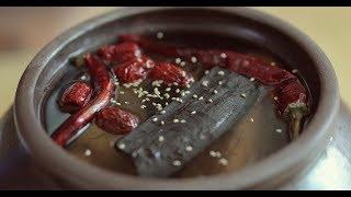 아파트에서 된장 만드는법~된장간장가르기!!메주에서 간장 된장 만들기~/How to make soybean paste