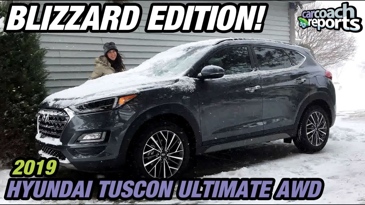 2019 Hyundai Tucson Ultimate Awd Review Blizzard Edition Youtube