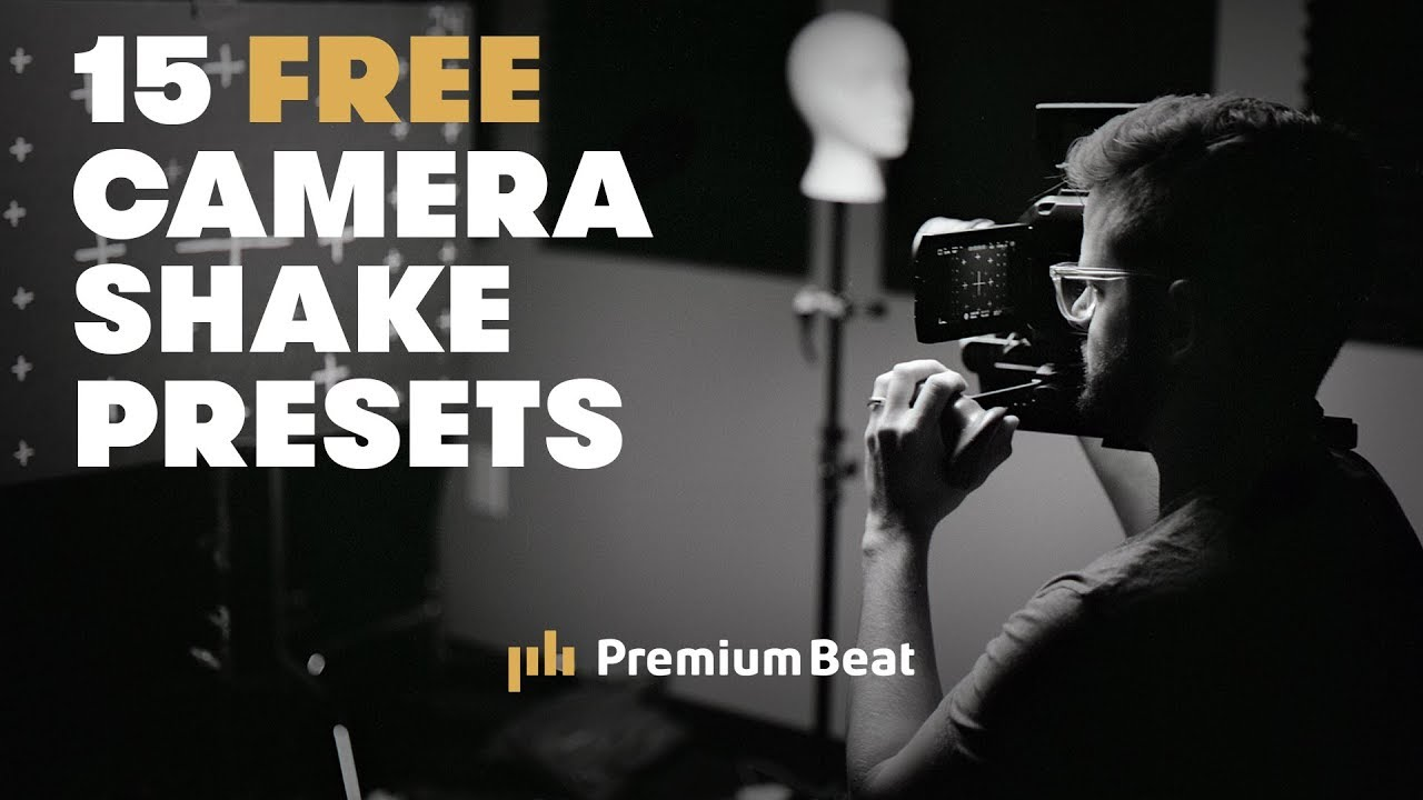 15 FREE Camera Shake Presets for After Effects and Premiere Pro