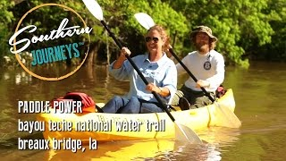 Paddle Powered: Bayou Teche National Water Trail