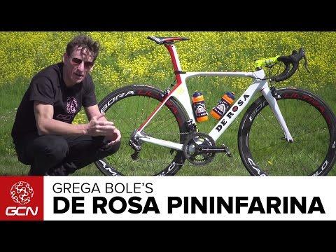 Grega Bole's De Rosa SK Pininfarina