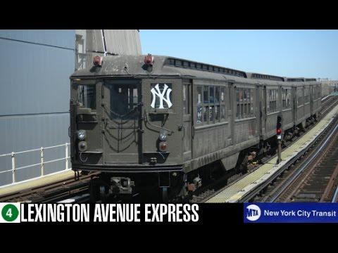 MTA NYCT: Low-V #5483 {4} Train (161st Yankee Stadium-Bound)