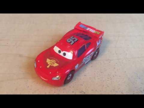 Disney Pixar Cars 2 2012 Finish Line Frenzy McQueen(Silver Rims)