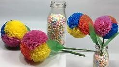 Cara Sederhana Membuat Bunga Pompom Dari Plastik Kresek dfc7ff8bff