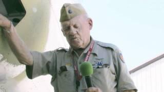 B-17 Belly Turret Gunner Wilbur Richardson Interview at Planes of Fame